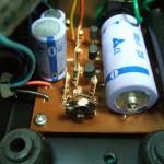 SP-10 電源部基板(修理前)