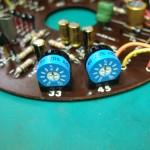 SP-10 メイン基板(修理後) 速度調整用可変抵抗器