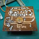 SP-10 電源基板裏(修理後)