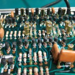 Technics SP-10mk2 (修理後)オーディオグレードのコンデンサーに交換(1)