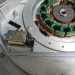 Technics SP-10mk2 (修理後)ブレーキ用電磁コイル