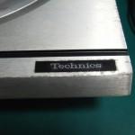 Technics SP-10mk2 (修理後)ロゴプレート