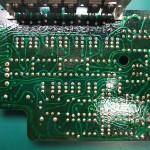 Technics(テクニクス) SP-10mk2 修理前 モーター駆動基板裏側
