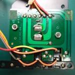 Technics(テクニクス) SP-10mk2 修理前 スイッチ基板裏側