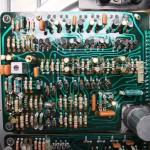 Technics(テクニクス) SP-10mk2 修理後 モーター駆動基板裏側