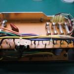 Technics(テクニクス) SP-10mk2電源ユニット 修理前 中継基板表側