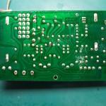 Technics(テクニクス) SP-10mk2電源ユニット 修理前 電源制御基板裏側