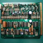 修理前のロジック基板(表側)
