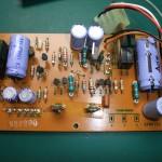 修理前の電源ユニット 制御基板(表側)(2)