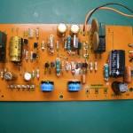 修理後の電源ユニット 制御基板(表側)