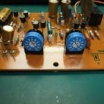 修理後の電源電圧調整用のVR