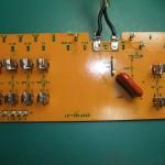 修理後の電源ユニット 中継基板(表側)