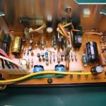 修理後の電源ユニット 制御基板(表側)(2)
