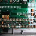 修理後の中継基板と制御基板