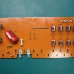 SH-10E電源ユニット 電源中継基板表面(修理後)