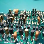 オーディオグレードの電解コンデンサーに交換(1)