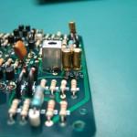 オーディオグレードの電解コンデンサーに交換