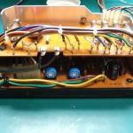 SH-10E電源ユニット 修理処理後基板を取り付けた状態
