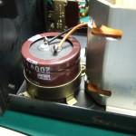SH-10E電源ユニット 電解コンデンサー(修理後)
