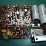 DENON(デノン)DP-2700 メイン基板部品実装面(修理後)