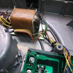 DENON(デノン)DP-2700 修理後トランス付近