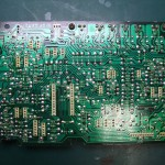 Technics(テクニクス) SP-10mk3 駆動基板(修理前/裏面)