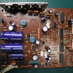 Technics(テクニクス) SP-10mk3 電源基板(修理前/表面)