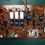 Technics(テクニクス) SP-10mk3 コントロール基板(修理後/表面)