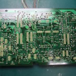 Technics(テクニクス) SP-10mk3 コントロール基板(修理後/裏面)