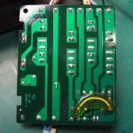 Technics(テクニクス) SP-10mk3 フューズ基板(修理後/裏面)