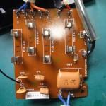 Technics(テクニクス) SP-10mk3 フューズ基板(修理後/表面)