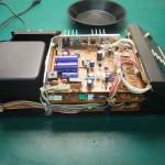Technics(テクニクス) SP-10mk3 コントロールユニット内部 修理前(1)