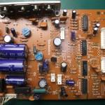 Technics(テクニクス) SP-10mk3 電源基板(表) 修理前