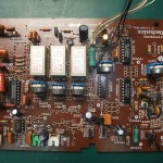 Technics(テクニクス) SP-10mk3 制御基板(表) 修理前