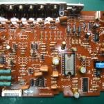 Technics(テクニクス) SP-10mk3 ドライブ基板(表) 修理後