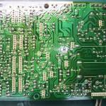 Technics(テクニクス) SP-10mk3 電源基板(裏) 修理後