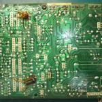 Technics(テクニクス) SP-10mk3 電源基板(裏) 修理前