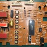 Technics(テクニクス) SP-10mk3 オペレーション基板(表) 修理前