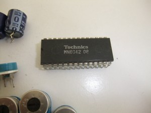 Technics(テクニクス) SP-10mk3 不良となったピッチコントロールIC(MN6042)