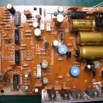 Technics(テクニクス) SP-10mk3 電源基板(表)修理後