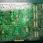 Technics(テクニクス) SP-10mk3 電源基板(裏)修理後