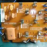 Technics(テクニクス) SP-10mk3 ヒューズ基板(表)修理後