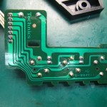 Technics(テクニクス) SP-10mk3 スピードセレクター基板(裏)修理後