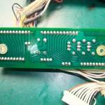 Technics(テクニクス) SP-10mk3 コネクション基板(裏)修理後