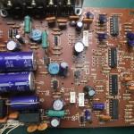 Technics(テクニクス) SP-10mk3 修理前 電源基板(表)