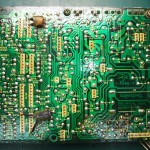 Technics(テクニクス) SP-10mk3 修理前 電源基板(裏)