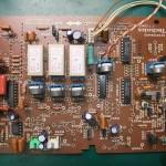 Technics(テクニクス) SP-10mk3 修理前 制御基板(表)