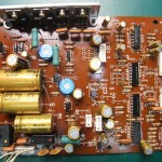 Technics(テクニクス) SP-10mk3 修理後 電源基板(表)