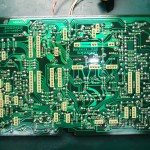 Technics(テクニクス) SP-10mk3 修理後 制御基板(裏)