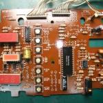 Technics(テクニクス) SP-10mk3 修理後 オペレーション基板(表)
